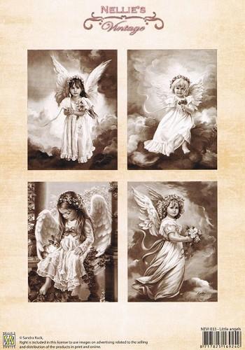 Nellie Snellen Knipvel   Vintage Little Angels