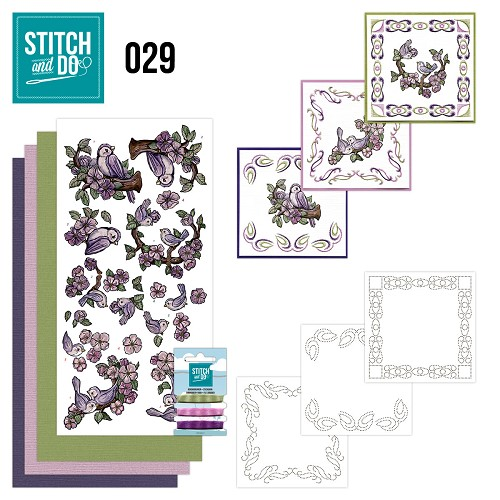 Stitch and Do 29 Vogels