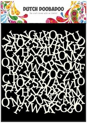 Dutch Doobadoo Stencil Art Alfabet