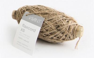Vivant Jute Flax Koord XS, 1mm, naturel,