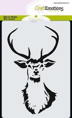 CraftEmotions Mask Stencil Rendier