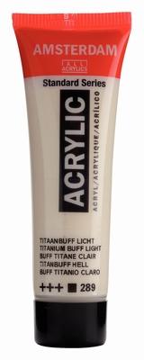 Amsterdam Acrylverf 20 ml Titaanbuff Licht