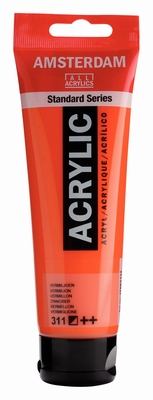 Amsterdam Acrylverf 120 ml Vermiljoen