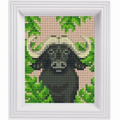 Pixelhobby Geschenkset Jungle | Buffel