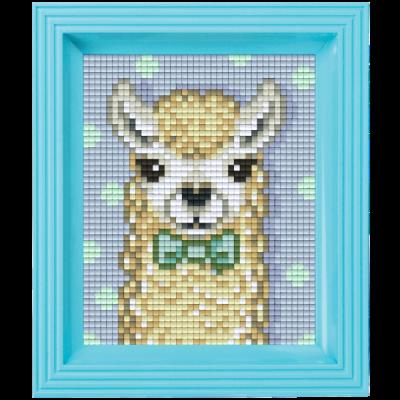 Pixelhobby Geschenkset Jungle | Alpaca Wit