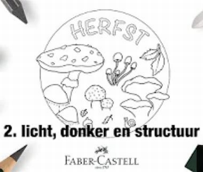 Workshop Grafiet deel 2 Licht Donker Structuren