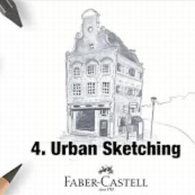 Workshop Grafiet deel 4 Urban Sketching