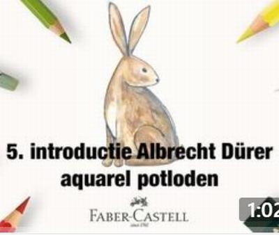 Workshop Albrecht Dürer Aquarel 1   Introductie