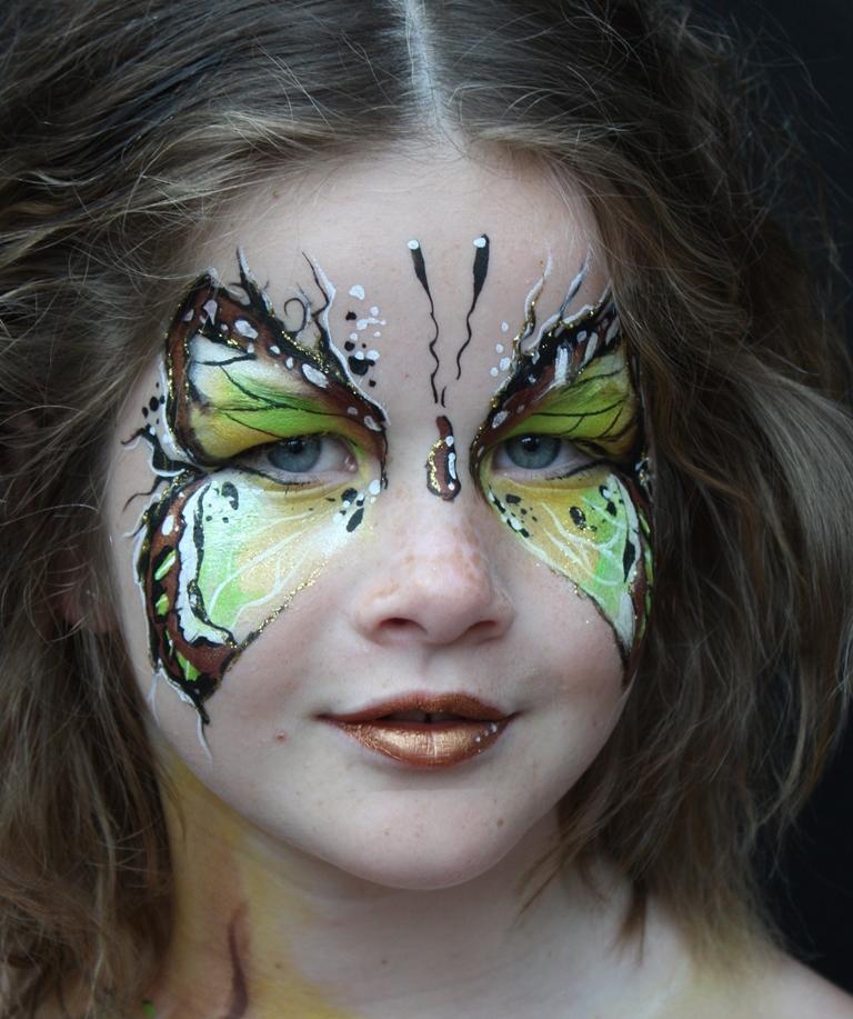 Workshop schminken Thema: Vlinders