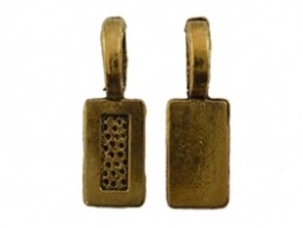 Bevestigingsoog goud | 10 stuks