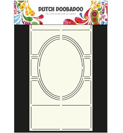 Dutch Doobadoo Swing Card Art Ovaal Liggend