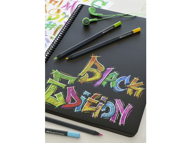 Faber Castell   Black Edition   12 kleurpotloden