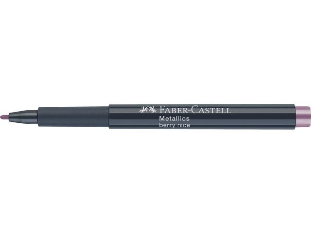 Faber Castell marker - Metallics - Berry Nice