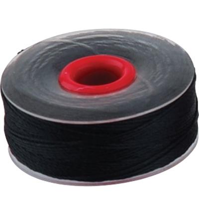 Kralendraad | 0,2 mm | 37 meter Zwart