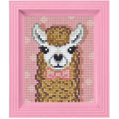 Pixelhobby Geschenkset Jungle   Alpaca Bruin