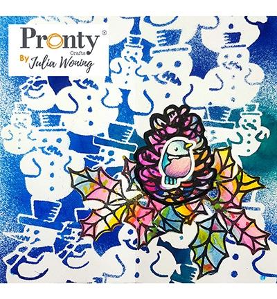 Pronty Foam stempel - Pine Cone | Julia Woning