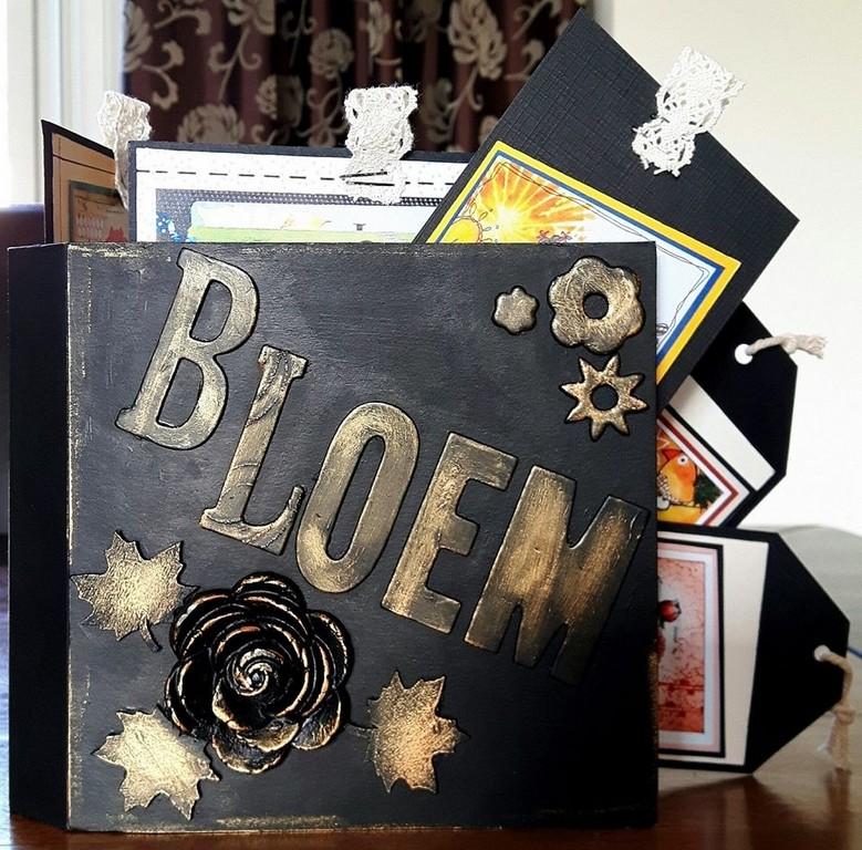 Scrap Album BLACK