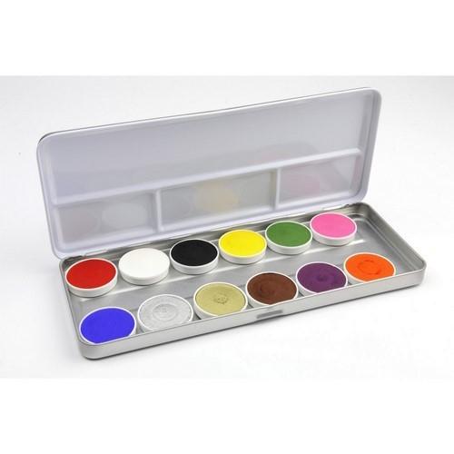 Superstar Schminkpalet Basic 12 kleuren