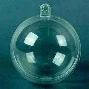 Transparante bal 10cm