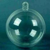 Transparante bal 8cm