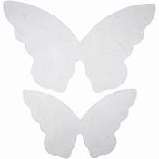 Vlinder vleugels 20 stuks in 2 maten