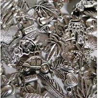 Bedel metaallook Zilver