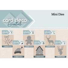Card Deco Essentials Mini Dies + Teksten