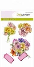 CraftEmotions stempel Bloemen