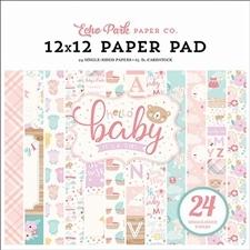 Echo Park Paper Pad | 12 x 12 inch