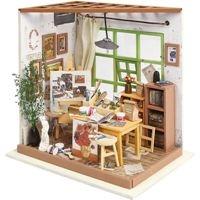 Home decoratie en poppenhuis