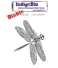 Inkie Dinkie rubber stempel IndigoBlu