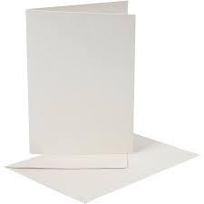 Kaarten met en zonder envelop