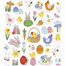 Pasen | Easter Papier | Snijmal | Sjaboon