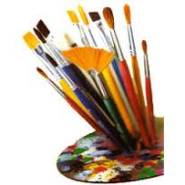 Penselen en schildersgereedschap