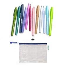 Pentel Brush Sign SES nieuwe kleuren