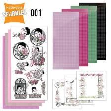 Sparkels - zelfmaakpakket voor kaarten
