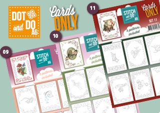Stitch and Do Cards Only A6 9-10-11