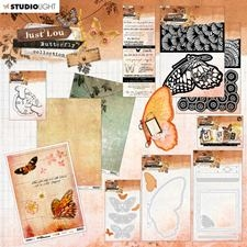 Studio Light Just Lou Butterfly Collection Stempel