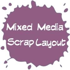Workshop Mixed Media | Workshop Scrap  Layout