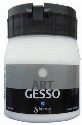 Schjerning Art Gesso Wit 250ml  per stuk