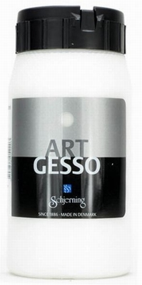 Schjerning Art Gesso Wit 500ml  per stuk