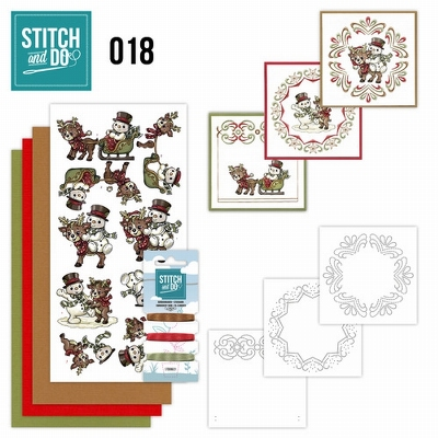 Stitch and Do 18 - Gezellig Kerstmis