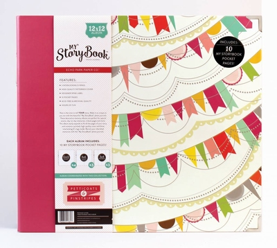 """Echo Park - My Story Book - Photo Journal Pennant - 12""""x12"""""""