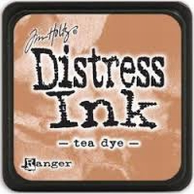 Distress Mini Ink Pad Tea Dye
