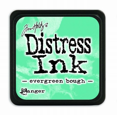 Distress Mini Ink Pad- evergreen bough
