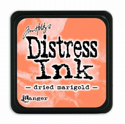 Distress Mini Ink Pad - dried marigold  per stuk