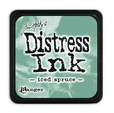 Distress Ink Mini Iced Spruce