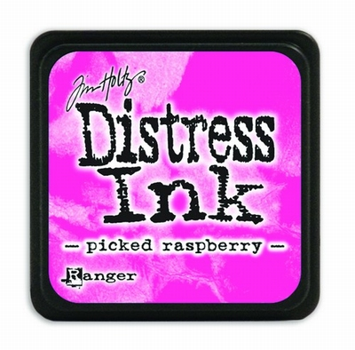 Distress Mini Ink Ink  - picked raspberry