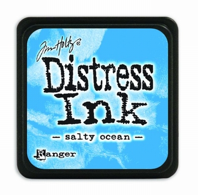 Distress Mini Ink Ink  - salty ocean