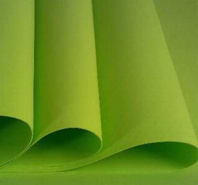 Foamiran Lime groen - 0,8mm - Flower Foam